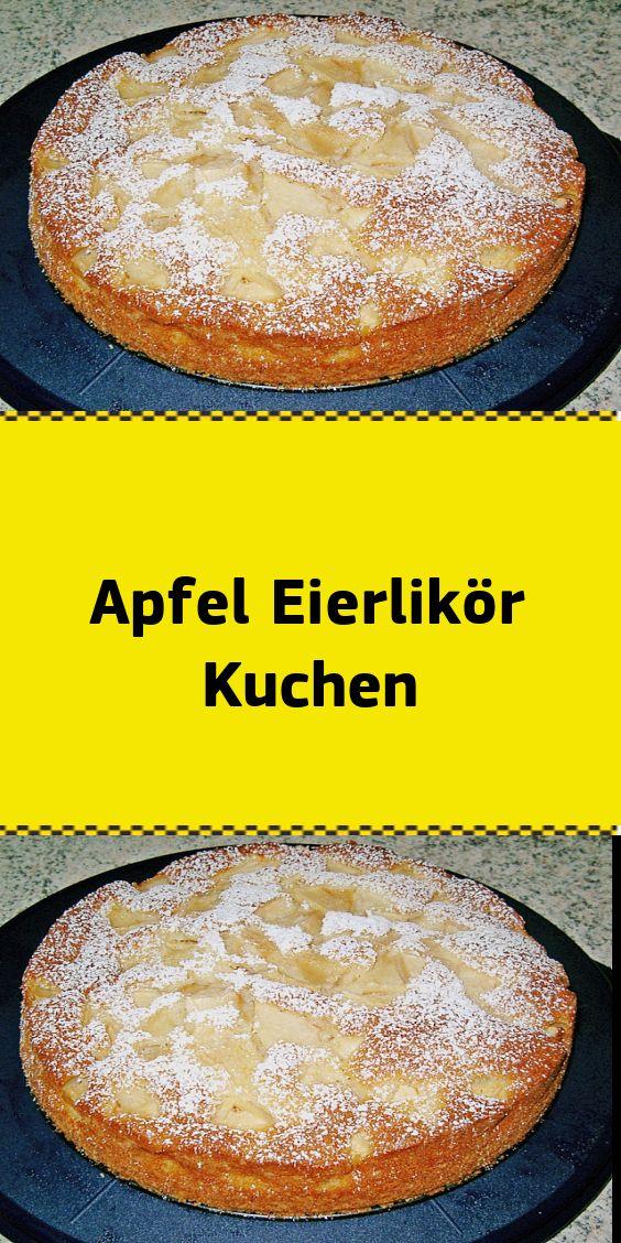 Apfel Eierlikör Kuchen – NUR FÜR DICH