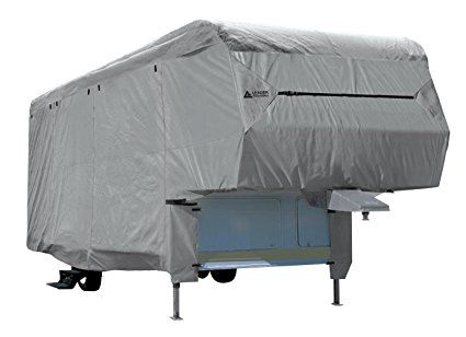 Leader Accessories 5th Wheel Rv Trailer Cover Fits 33'-37' 3 Layer Polypropylene. http://www.rvandcamper.net/covers.html