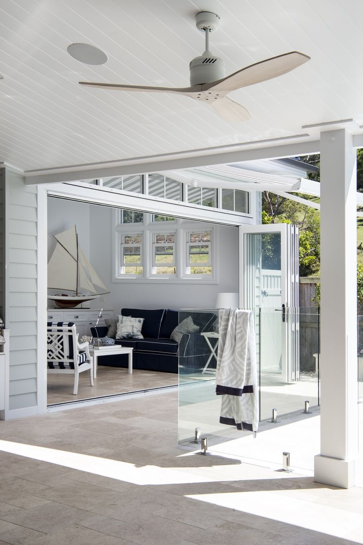 A neutral colour palette and Scyon Linea weatherboards are key for achieving a modern coastal look.