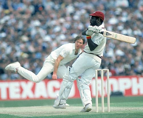 Viv Richards he was a run machine with a fantastic quick eye...