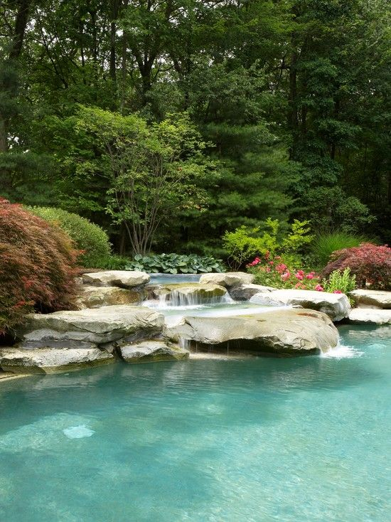 """""""Tuscan Landscape Design+down Slope+pool Design, Pictures, Remodel, Decor and Ideas - page 39""""-would love to have!"""