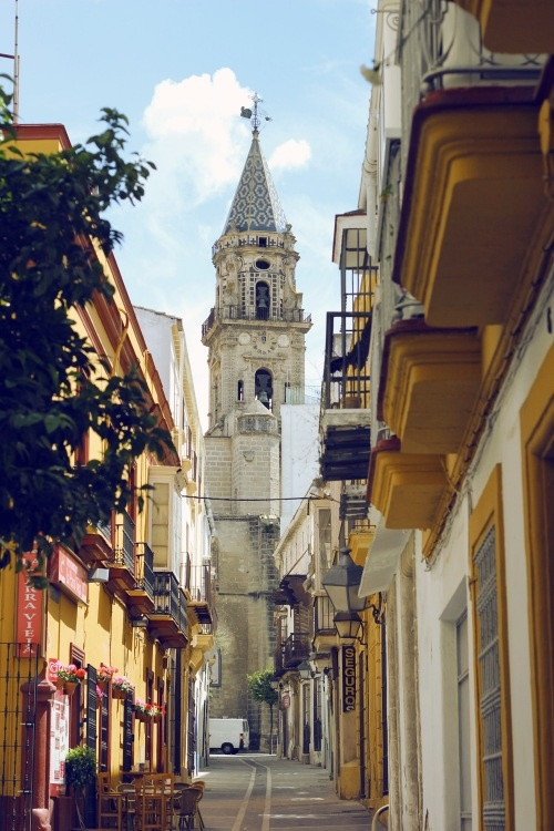JEREZ - The church of San Miguel.
