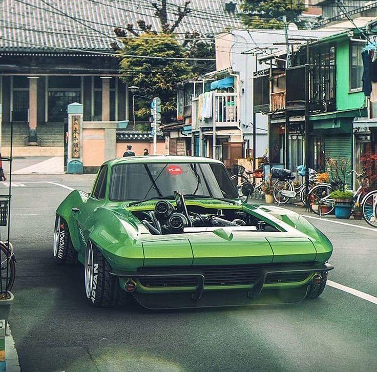 Crazy Corvette Render Via