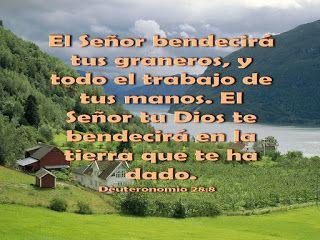 Biblia, paisajes y maravillas: Deuteronomio 28:8