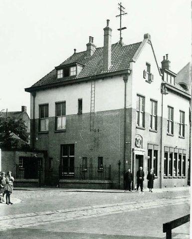 Tilburgseweg Postkantoor afgebroken 1990