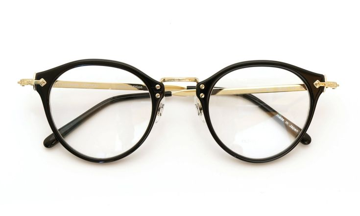 OLIVER PEOPLES [OP-505 BK/G] | archive collection | PonMegane