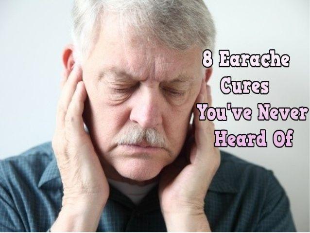 8 Earache Cures You've Never Heard Of!