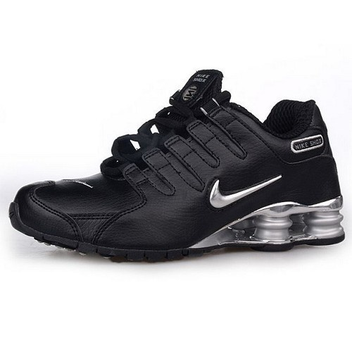 3cbe6f5ef41e ... promo code for nike shox nz black silver men shoes 1027 for 57.90 go to  http