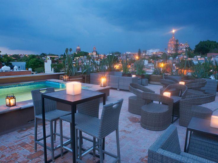 """The Best Rooftop Restaurants in San Miguel de Allende - Condé Nast Traveler (& """"The Restaurant)"""