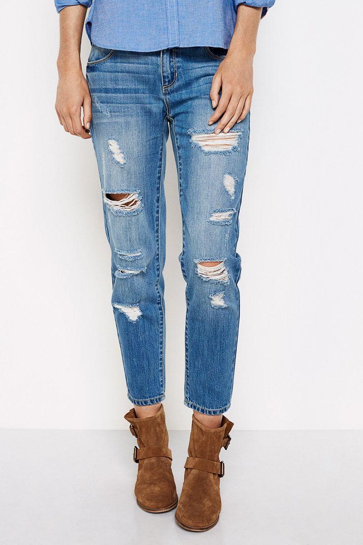 Boyfriend jeans (ganga): SPRINGFIELD (32,99€)