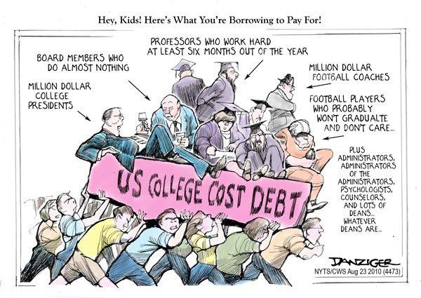 Presumptuous Politics: College Cartoons | Cartoons | College