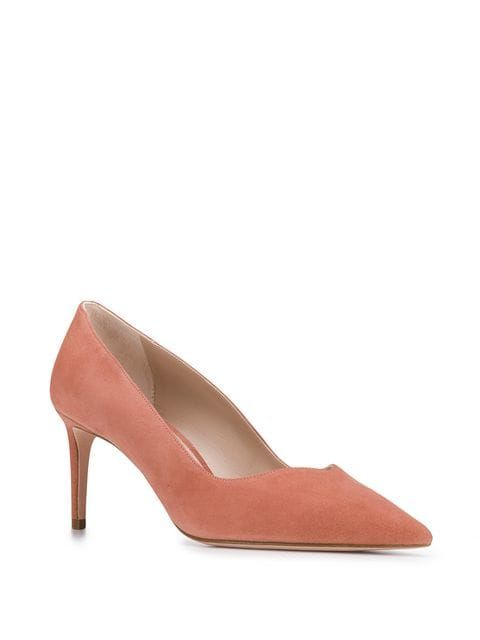 0b7c712fcc303 Stuart Weitzman Anny 70 Pumps in 2019 | Fall coveting board | Stuart  weitzman, Suede pumps, Pumps