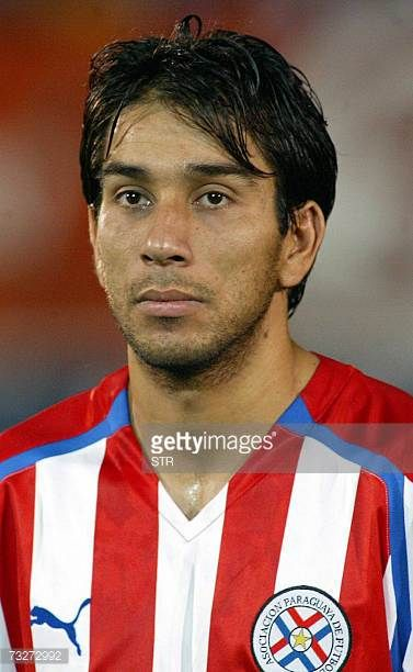 Paraguayan soccer team player Nelson Cuevas AFP PHOTO