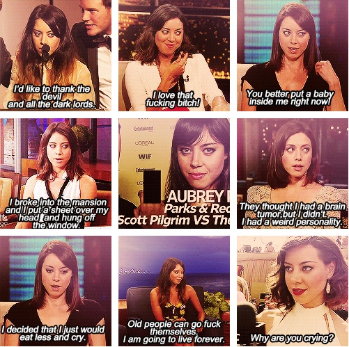 aubrey plaza is wonderfully insane