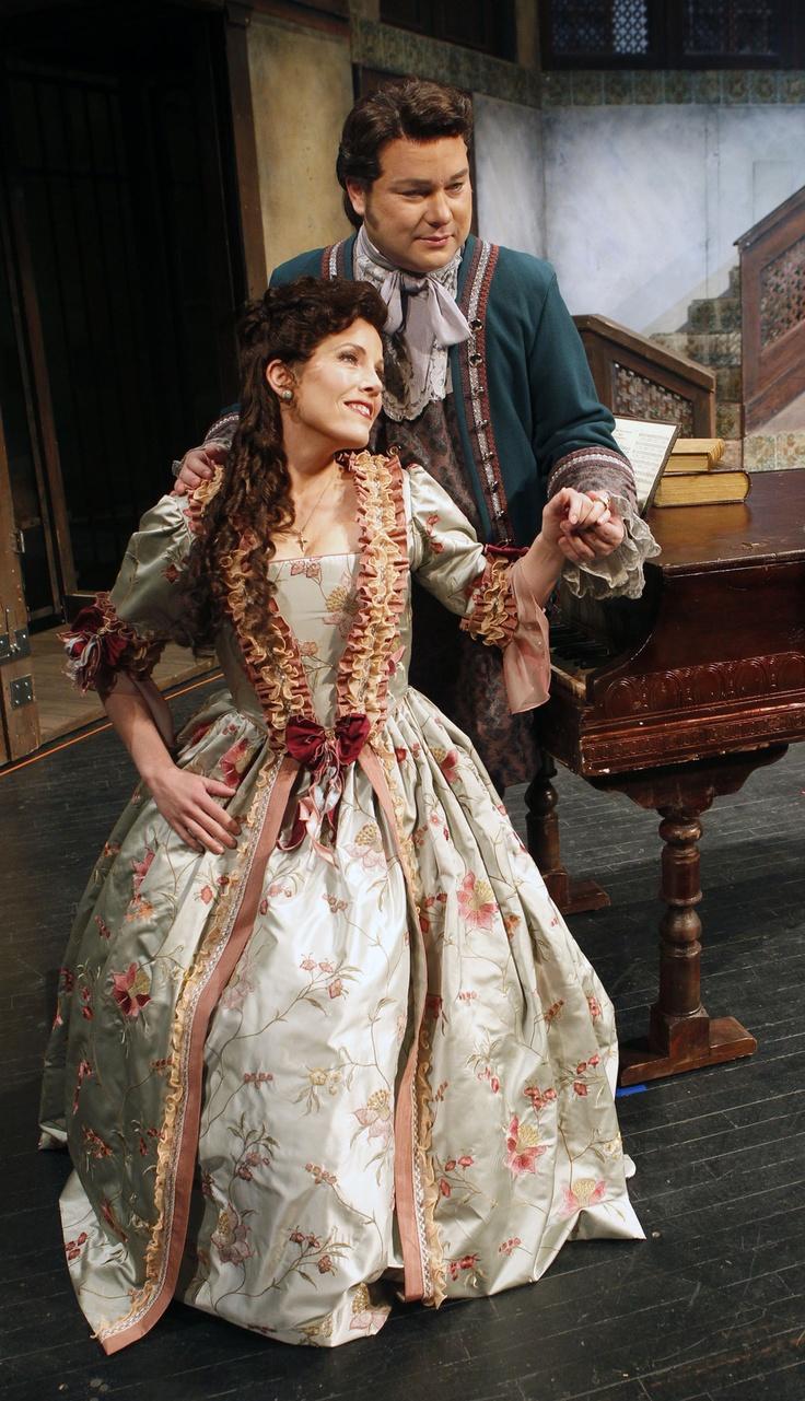 "(Al Hartmann     The Salt Lake Tribune)  Utah Opera presents Rossini's comedy ""The Barber of Seville.""  Celena Shafer as Rosina and Robert McPherson as Almaviva."