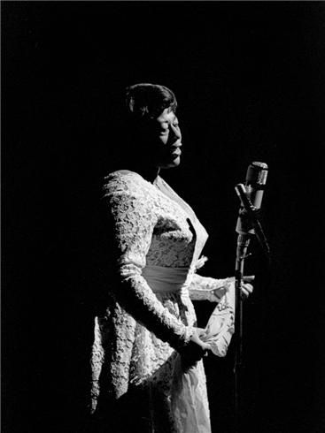 Ella Fitzgerald, Paris, France, 1960. If butter could sing, it would sound like Ella.