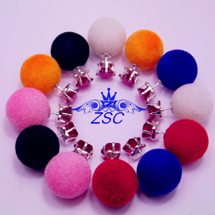 Ne450 Heißer Modeschmuck Ohrringe Heißer Verkauf 2016 Round-doppelt-perlen-bolzen-ohrringe Große Perlen-ohrringe für Frauen