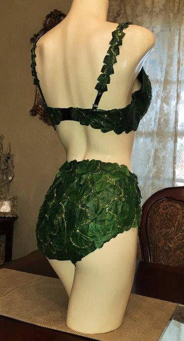 Poison Ivy Traje Cosplay de la Comic-Con Batman Halloween