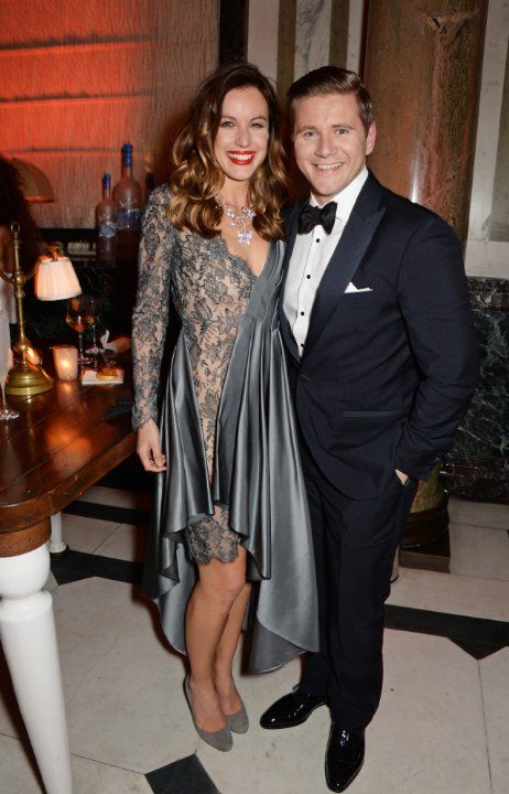 Allen Leech and Charlie Webster