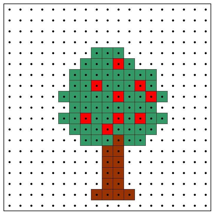KleuterDigitaal - wb kralenplank appelboom