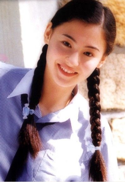 Hong Kong actress Cecilia Cheung - Pigtailed female stars look like sweet teenage girls - Xinhua   English.news.cn