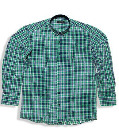 Καρό μακρυμάνικο πουκάμισο σε regular γραμμή 100% βαμβακερό. Κλασσικό κομμάτι που συνδυάζεται τόσο με τζιν, όσο και chinos για casual look.