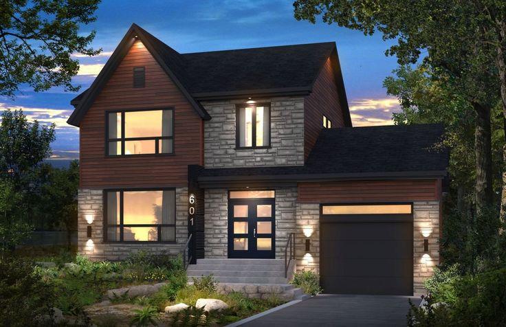 Maison neuve - Cottage, modèle Archipel