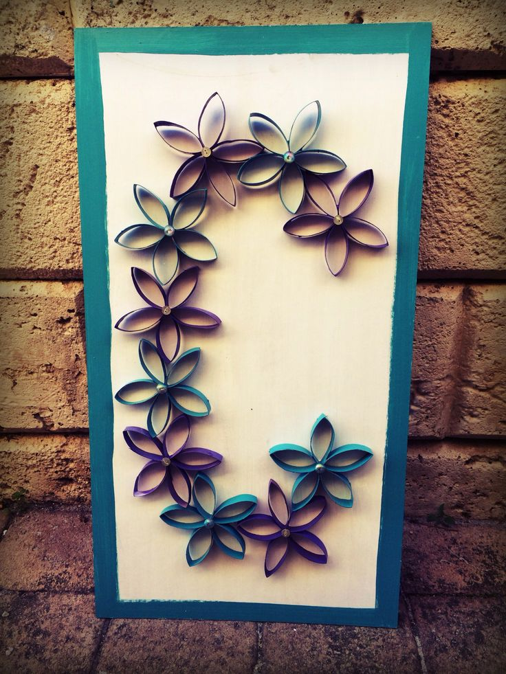 DIY Cardboard flowers, I'm using this as a decoration for Chelsea's Fairy Party