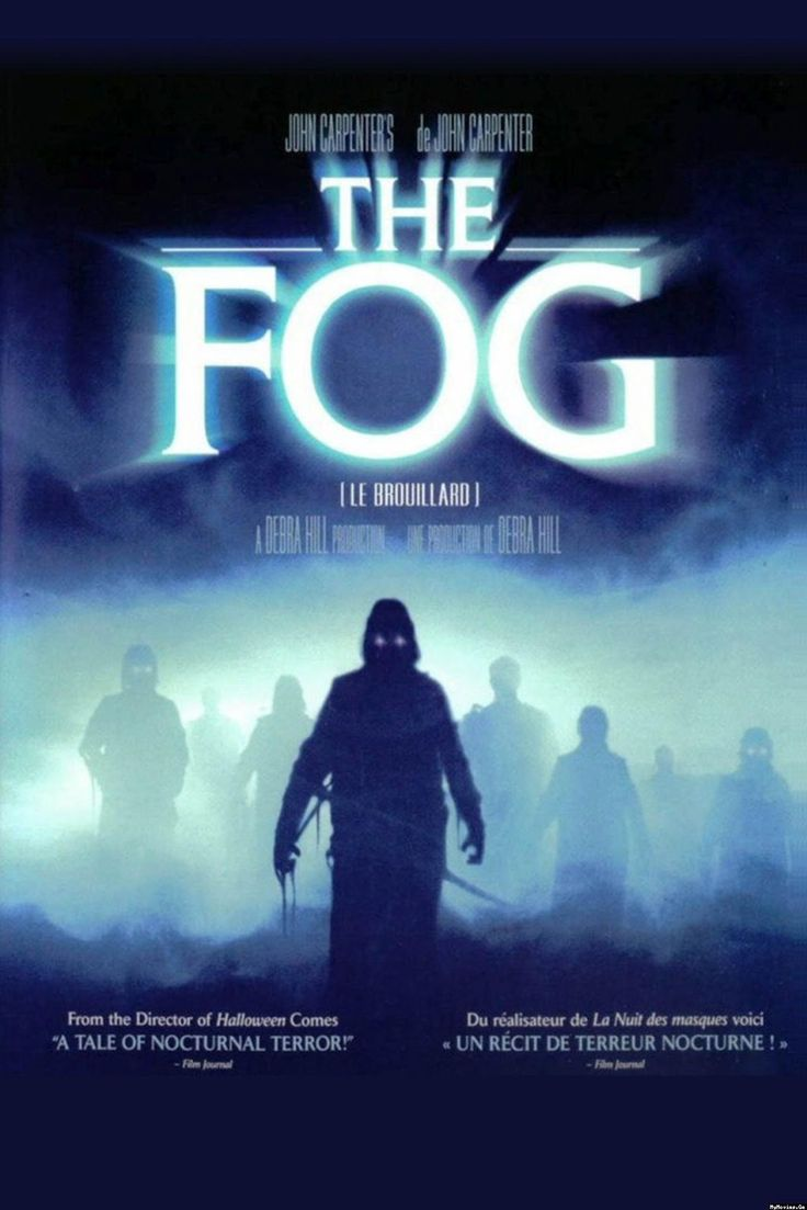 John Carpenter's The Fog (1980) Legend says that Antonio Bay was built in 1880 with blood money obtained from shipwrecked lepers but no one believes it. On the eve of the town's centennial many plan to attend the celebrations, including the murdered lepers. Image and info credit: IMDb. https://www.youtube.com/user/PopcornCinemaShow