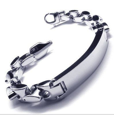 "Cheap bracelet us, Buy Quality bracelet fashion directly from China steel my heart bracelets Suppliers: PRODUCT ID: 10017819METAL: Stainless Steel COLOR: Silver SIZE: L: 8.7"", W:12mm"
