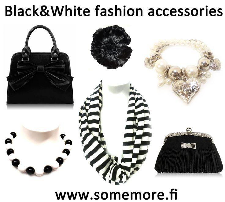 Mustaa ja valkoista, uutuuksia! http://www.somemore.fi/tuotteet.html?id=32/