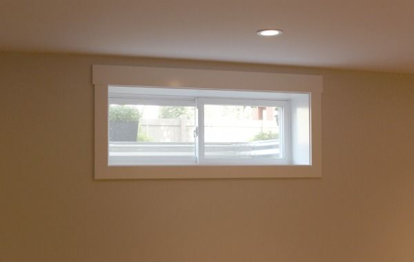 Construction Is Finally Done Our Basement Reveal Window