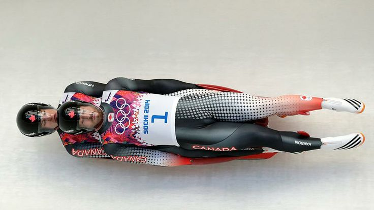 Tristan Walker and Justin Snith: Olympic Doubles Luge Team slid their way to a best-ever Canadian Olympic result of 4th! (Photo: CP)