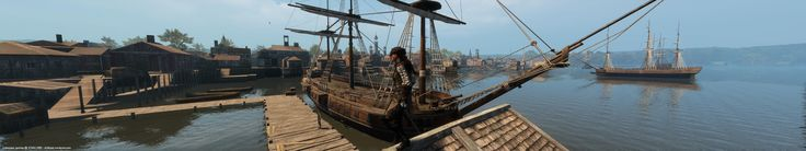 Assassin's Creed Liberation HD - New Orleans - Widescreen gaming @ 5760×1080 dvdbash.wordpress.com