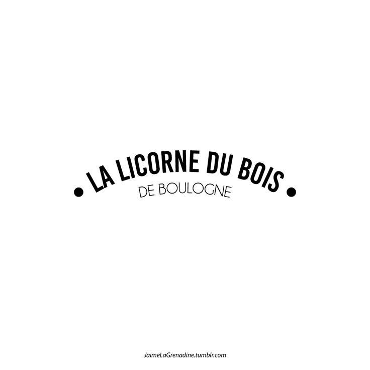 La licorne du bois de Boulogne - #JaimeLaGrenadine #licorne #licornes #unicorn #unicorns #love #amour #boulogne #french