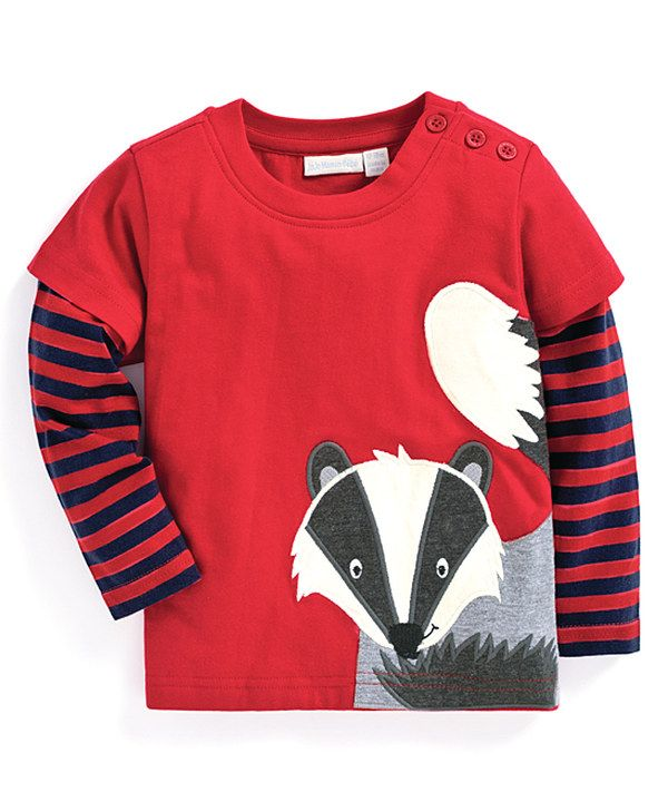 Look at this Red Badger Long-Sleeve Tee - Infant, Toddler & Boys on #zulily today!