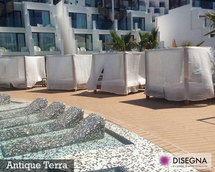 Disegna Decking comporte une résistance efficace au glissement, ce qui le rend pratique pour les espaces extérieurs.