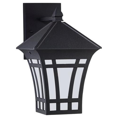 Seagull Lighting 1 Light Black Fluorescent Outdoor Wall Lantern with Etched  Glass  White Inside Glass at Menards24 best Outdoor Lighting images on Pinterest   Outdoor walls  Wall  . Menards Exterior Lighting. Home Design Ideas