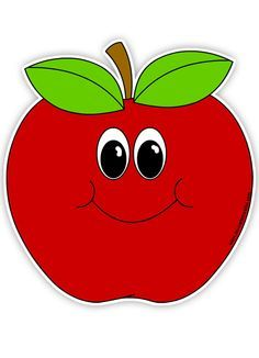 Awesome apple word clipart