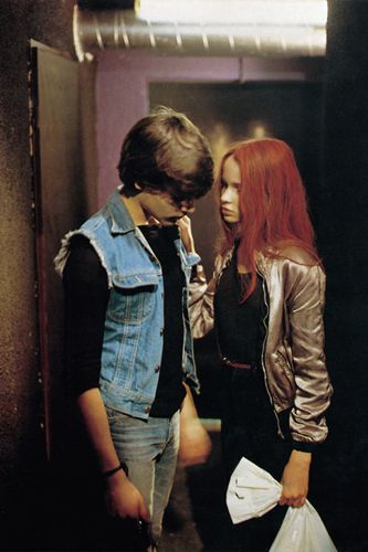 Christiane F., 1981 Love the Christiane's punk chick, Bowie fun look from the brilliant film Christiane F.