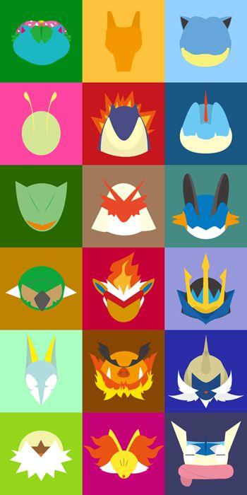 Minimalist Starter #Pokemon