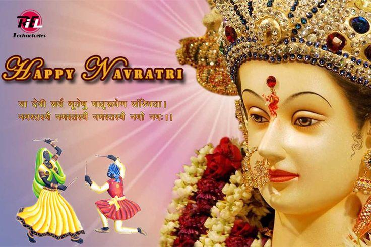 सारा जहां है जिसकी शरण में, नमन है उस माँ के चरण में, हम है उस माँ के चरणों की धूल, आओ मिलकर माँ को चढ़ाएं श्रद्धा के फूल। शुभ नवरात्रि  Happy Navratri