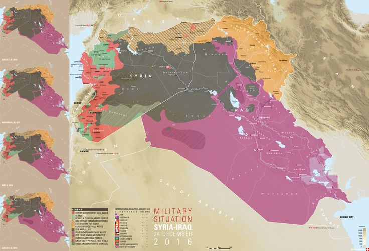 Military situation in Iraq and Syria (24/12/16)