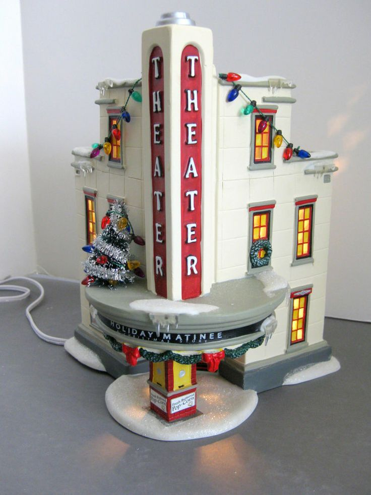 Uptown Theater A Christmas Story Dept 56 Lighted Building retired ...