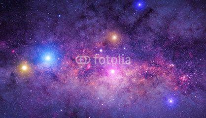 Milky way mosaic.