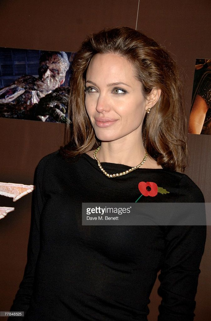 Angelina Jolie attends the European premiere of 'Beowulf', at the Vue West End on November 11, 2007 in London, England.