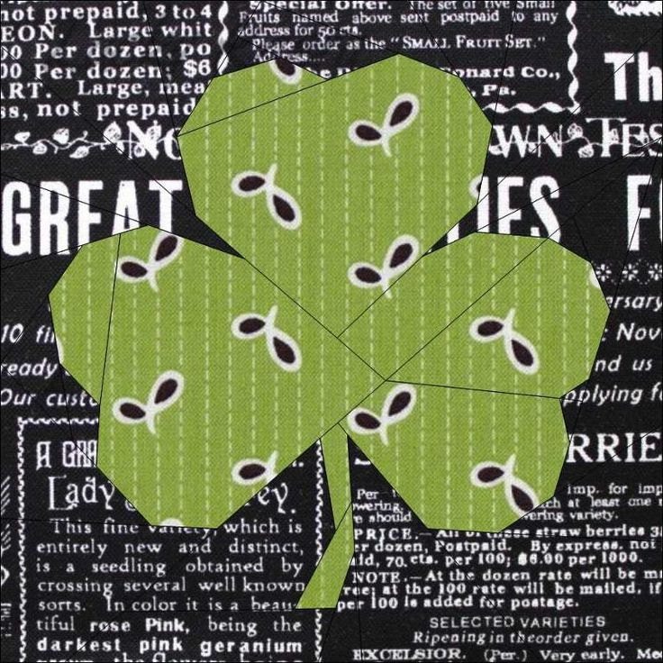Lucky Shamrock: Likes Quilts, Quilting Patterns, Trilliumdesign Patterns, Designer Trillium, Quilt Block Patterns, Lucky Shamrock, Photo
