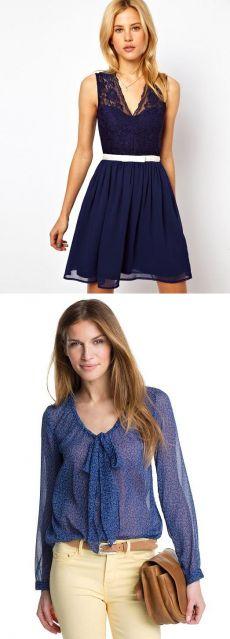 Красивые платья, блузки,юбки из легкого шифона (15 фото)