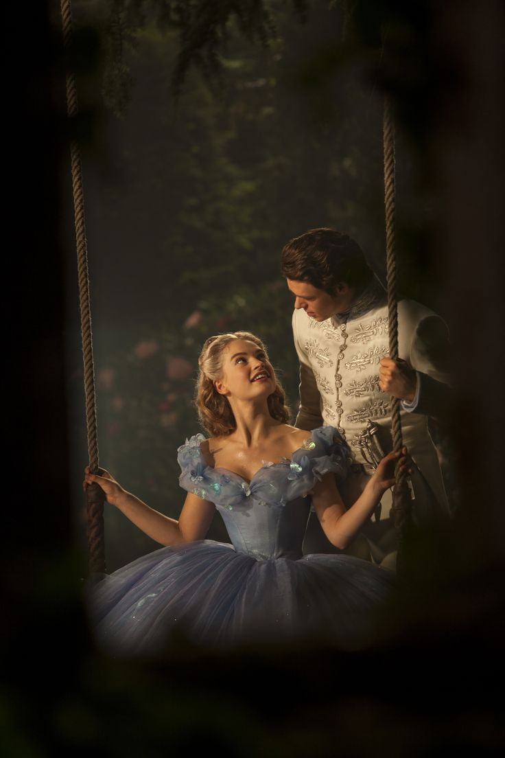 """cinderella old and new """"cinderella director kenneth branagh called his heroine, played by lily  one  night, she attends a ball in one of her old gowns, and a new."""