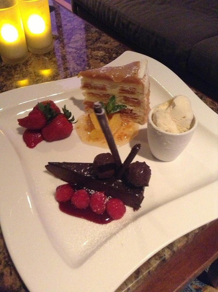 Dessert platters for two or three...